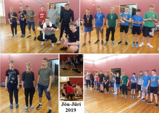 """2019 """"Jõu-Jüri""""  võistlus"""