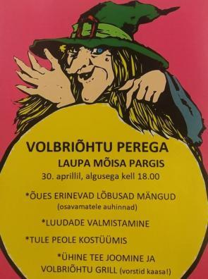 Volbriõhtu plakat 2019